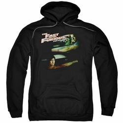 Fast Furious Tokyo Drift pull-over hoodie Drifting Together adult black