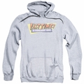 Fast Times Ridgemont High pull-over hoodie Distressed Logo adult athletic heather