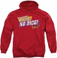 Fast Times Ridgemont High pull-over hoodie No Dice adult red