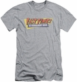 Fast Times Ridgemont High slim-fit t-shirt Distressed Logo mens heather