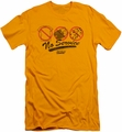 Fast Times Ridgemont High slim-fit t-shirt No Service mens gold