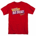 Fast Times Ridgemont High t-shirt No Dice mens red