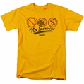 Fast Times Ridgemont High t-shirt No Service mens gold