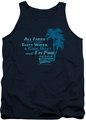 Fast Times Ridgemont High tank top All I Need mens navy