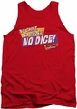 Fast Times Ridgemont High tank top No Dice mens red