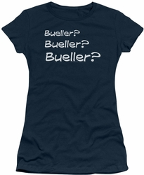 Ferris Bueller juniors t-shirt Are you there navy