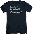 Ferris Bueller slim-fit t-shirt Bueller? mens navy