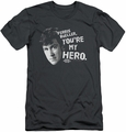 Ferris Bueller slim-fit t-shirt My Hero mens charcoal