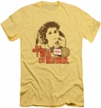 Ferris Bueller slim-fit t-shirt Nutsheel mens banana