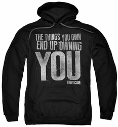 Fight Club pull-over hoodie Owning You adult black