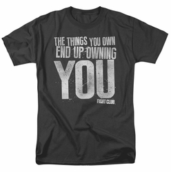 Fight Club t-shirt Owning You mens black