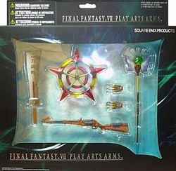 Final Fantasy VII Play Arts Arms Weapons Collection