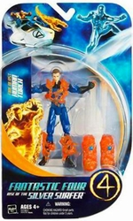 Fire Blast Human Torch action figure Fantastic Four Rise of the Silver Surfer