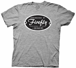 Firefly Engineered by Firefly mens t-shirt