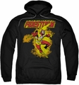 Firestorm pull-over hoodie DC Comics adult black