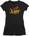 Flash juniors t-shirt 8 Bit black