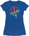 Flash juniors t-shirt Comics royal blue