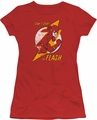 Flash juniors t-shirt Flash Bolt red