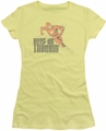 Flash juniors t-shirt Keep On Truckin banana