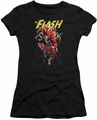 Flash juniors t-shirt Ripping Apart black