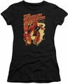 Flash juniors t-shirt Scarlet Speedster black