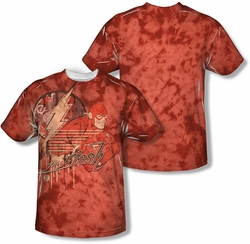 Flash mens full sublimation t-shirt Charge Ahead