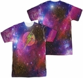 Flash mens full sublimation t-shirt Galaxy