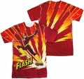 Flash mens full sublimation t-shirt Lightning Fast