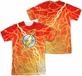 Flash mens full sublimation t-shirt Lightning Logo