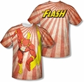 Flash mens full sublimation t-shirt Speed Of Light