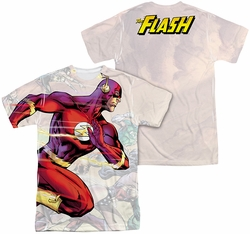Flash mens full sublimation t-shirt Taking The Lead