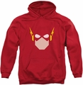 Flash pull-over hoodie Head adult red