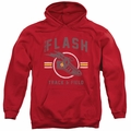 Flash pull-over hoodie Track And Field adult Red