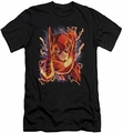 Flash slim-fit t-shirt #1 NEW 52 mens black