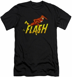 Flash slim-fit t-shirt 8 Bit mens black