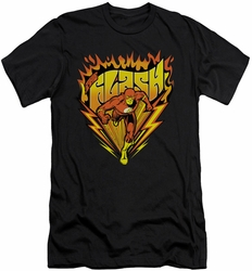 Flash slim-fit t-shirt Blazing Speed mens black