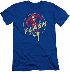 Flash slim-fit t-shirt Comics mens royal blue