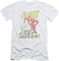 Flash slim-fit t-shirt Fast Moves mens white