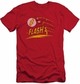 Flash slim-fit t-shirt Like Lightning mens red