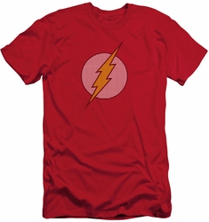 Flash slim-fit t-shirt Little Logos mens red