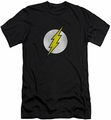 Flash slim-fit t-shirt Logo Distressed mens black