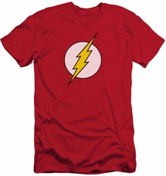 Flash slim-fit t-shirt Logo mens red