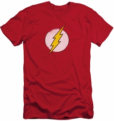 Flash slim-fit t-shirt Rough Logo mens red