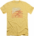 Flash slim-fit t-shirt Scarlet Speedster mens banana