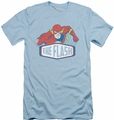 Flash slim-fit t-shirt Sign mens light blue