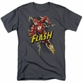 Flash t-shirt Bolt Run mens charcoal