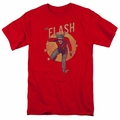 Flash t-shirt Circle & Stars mens red