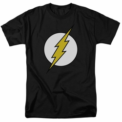 Flash t-shirt Classic Logo mens black