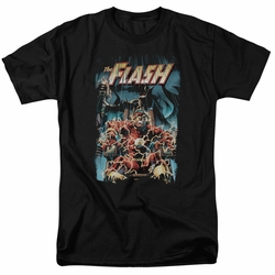 Flash t-shirt Electric Chair mens black
