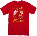 Flash t-shirt Flash Bolt mens red